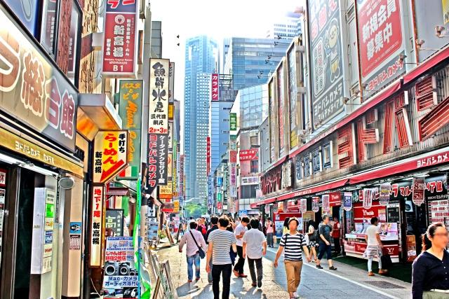 日本の繁華街